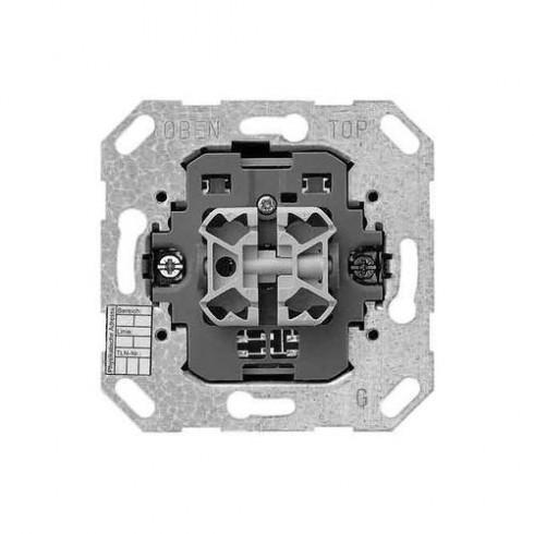 gira 18200 taster ba 2 fach 1 punkt knx eib eins schalter stecker ebay. Black Bedroom Furniture Sets. Home Design Ideas