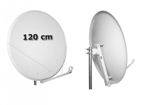 opticum tr120 satellitensch ssel sat antenne stahl 120 cm. Black Bedroom Furniture Sets. Home Design Ideas