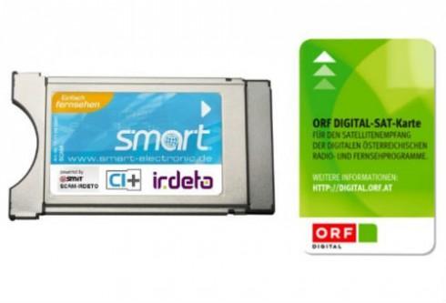 Smart SCAM-IR Irdeto CI+ CI-Modul inkl. ORF HD Karte