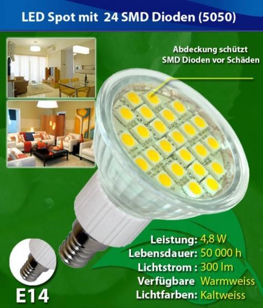 nextec led spot e14 4 8w 40w 300lm 220v 230v warmwei lampe birne gl hbirne leuchtmittel. Black Bedroom Furniture Sets. Home Design Ideas