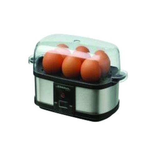 steba ek 3 plus edelstahl eierkocher fpr 6 eier 350w dampfgarer eierpick haushalt k chenger te. Black Bedroom Furniture Sets. Home Design Ideas