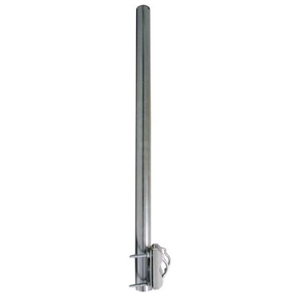 80cm balkongel nderhalterung satelliten spiegel balkon halter halterung stange. Black Bedroom Furniture Sets. Home Design Ideas