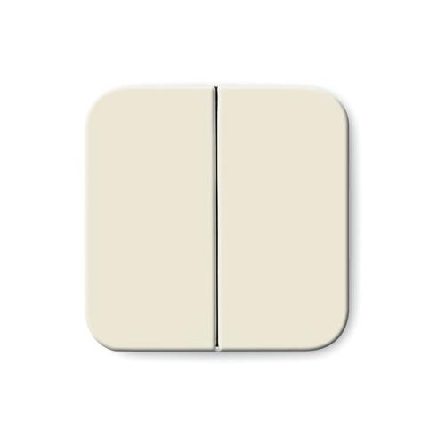 busch jaeger 1731 0 0264 wippe f r serien wechsel wechsel doppeltaster cremewei. Black Bedroom Furniture Sets. Home Design Ideas